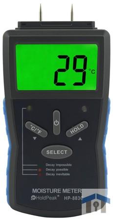 HOLDPEAK 883C nedvességtartalom mérő