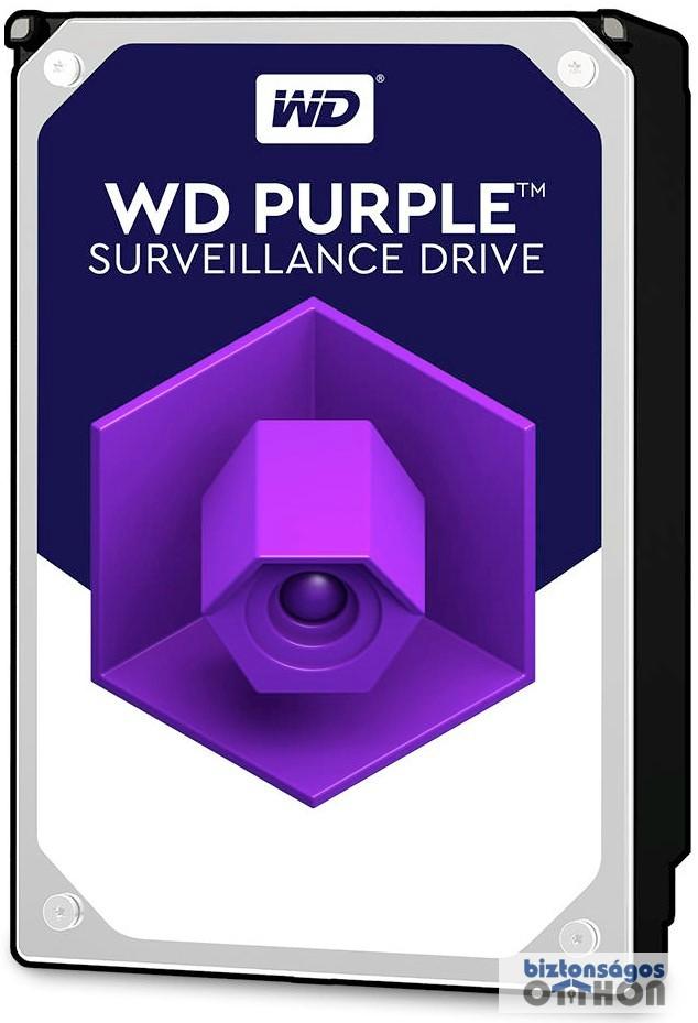 Western Digital 1000GB S-ATA III PURPLE WD10PURZ merevlemez