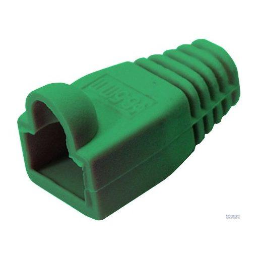 Törésgátló 8P8C dugaszhoz 05230 zöld