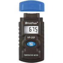 HOLDPEAK 2GF NTC mérőszondás hőmérsékletmérő, -50°C/+1400°C, kijelzés C°-ban és F°-ban.