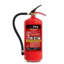 6 kg-os porral oltó ABC tüzekre 43A 233B C teljesítmény - maxFire + fali függesztő