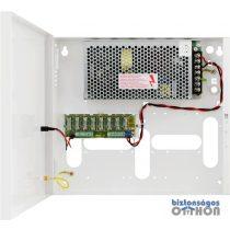Pulsar PSDC08128T Dobozolt tápegység kamerákhoz 8x1A