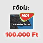 MOL 100.000 Ft nyeremény